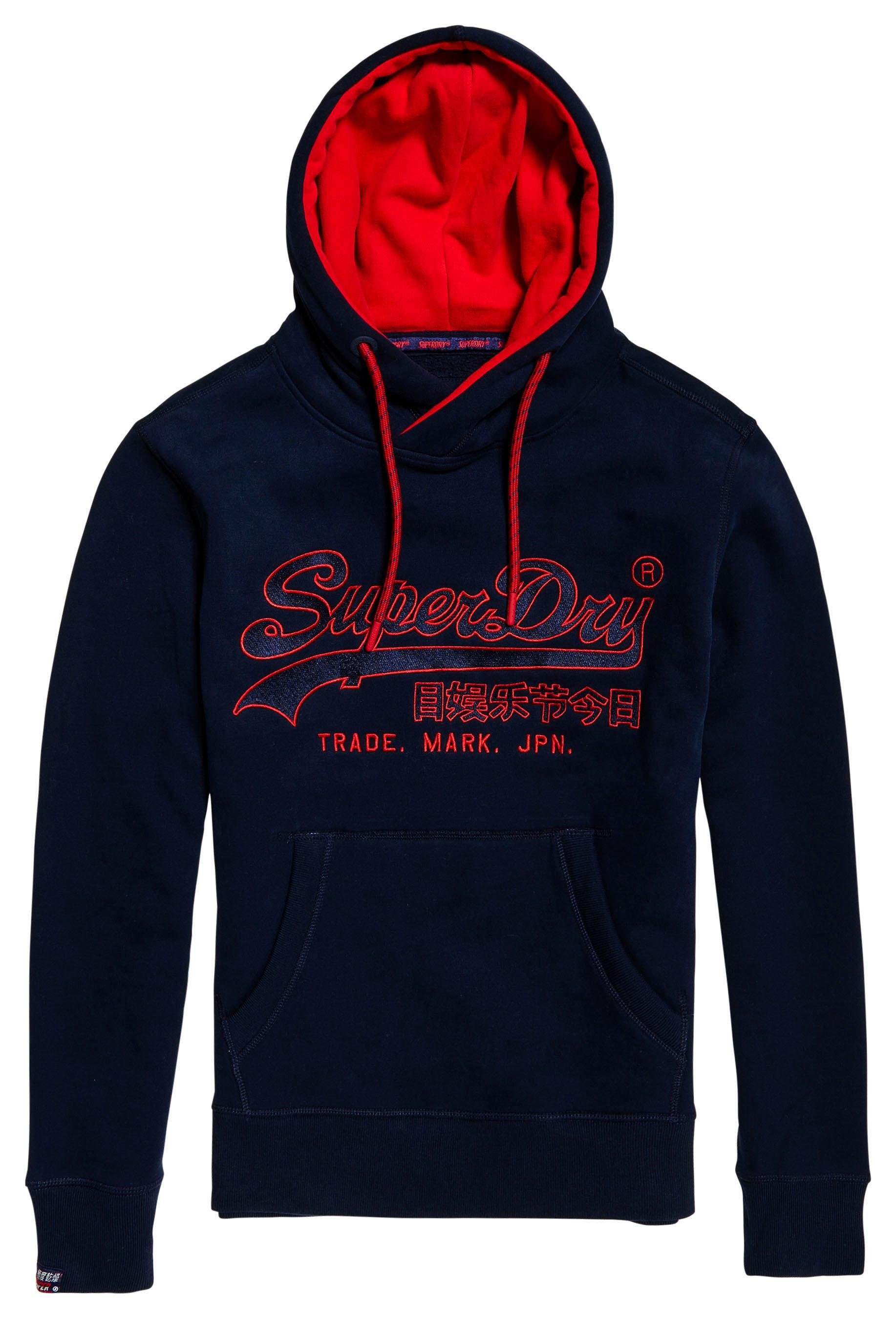 Kapuzensweatshirt »downhill Applique Hood« Racer Kaufen Superdry Online ZlwiukXOPT
