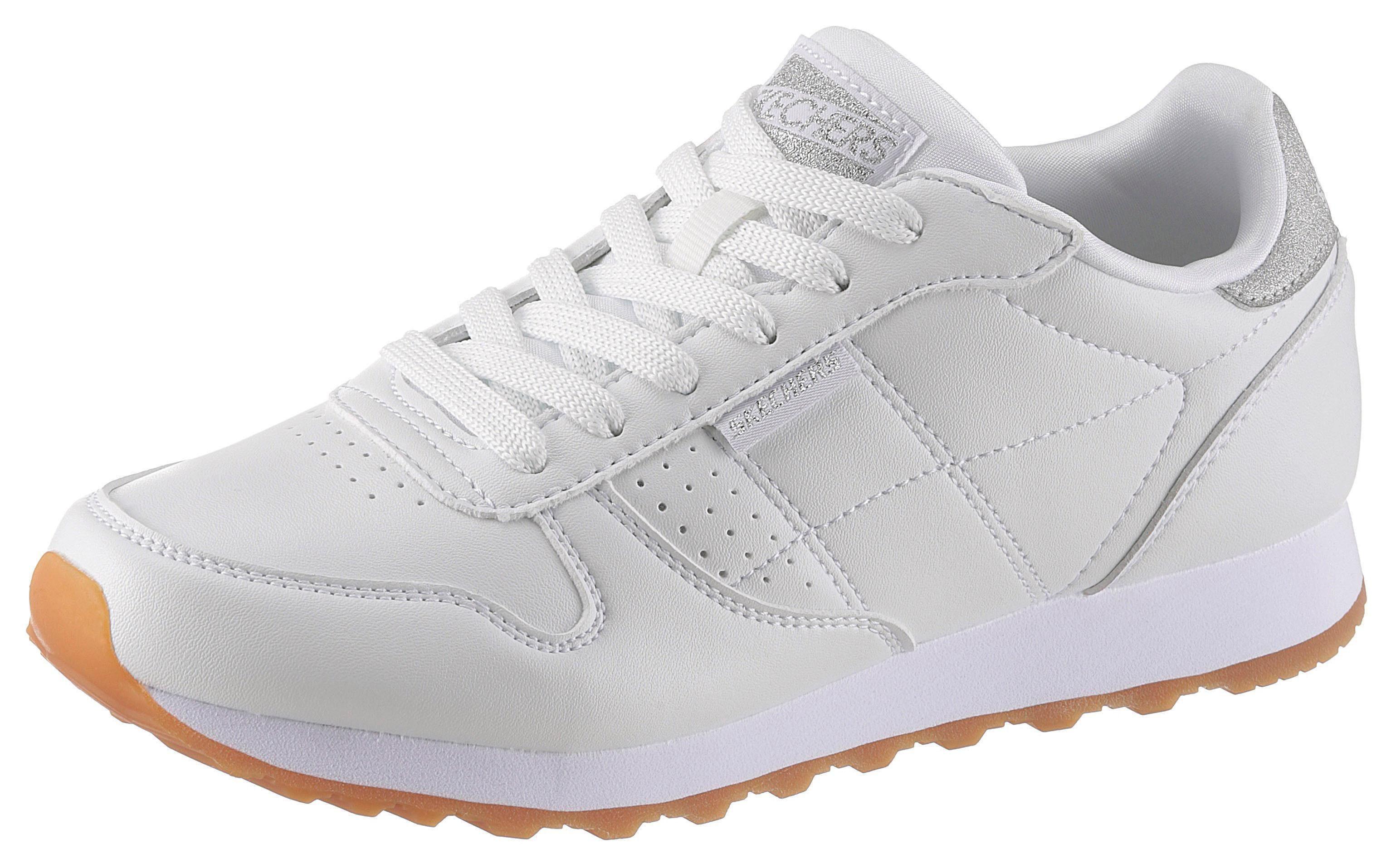 Skechers »OG 85 Old School Cool« Sneaker mit Glitzerbesatz an der Ferse online kaufen | OTTO