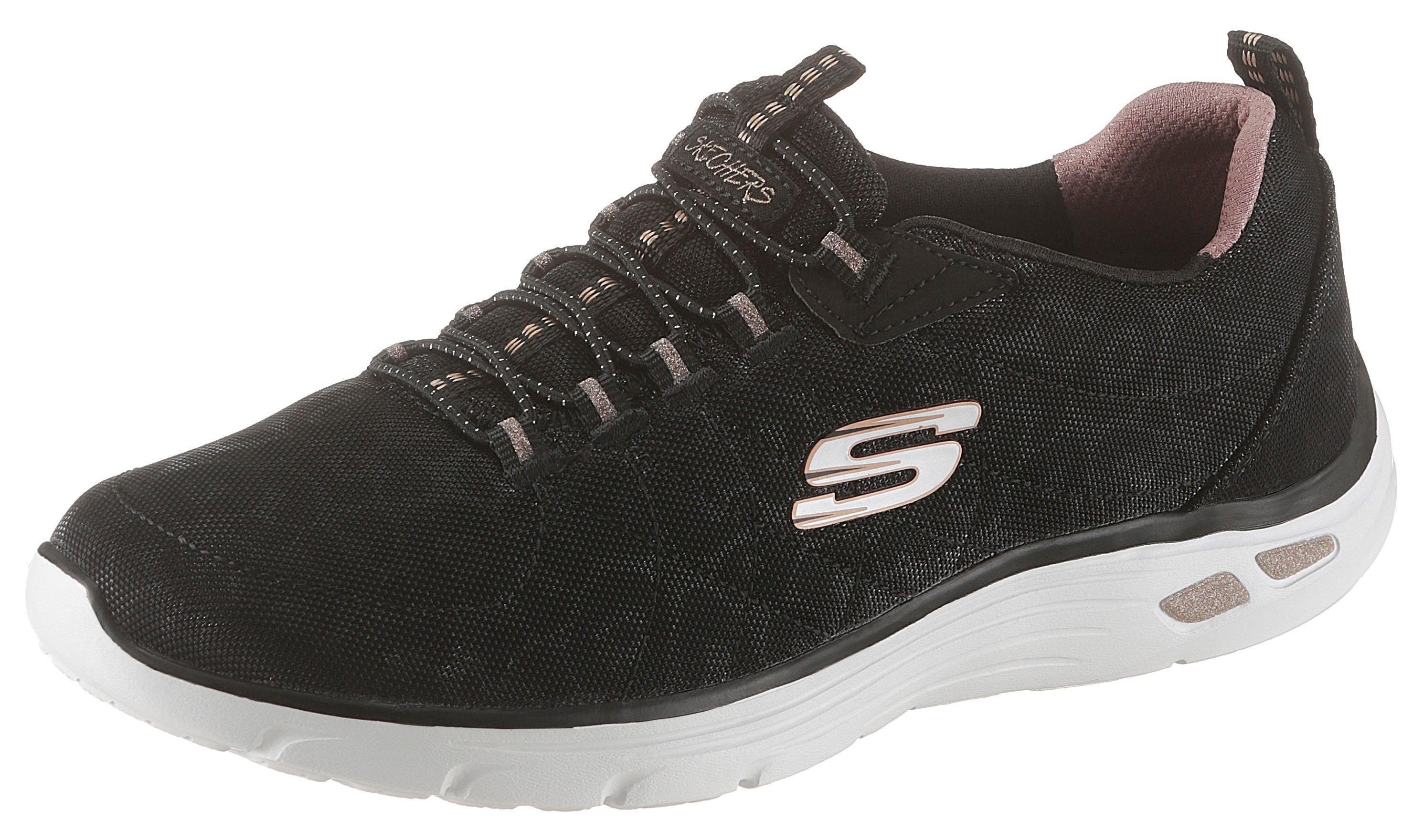 Skechers »Empire D´Lux Spotted« Slip On Sneaker mit aNg6b