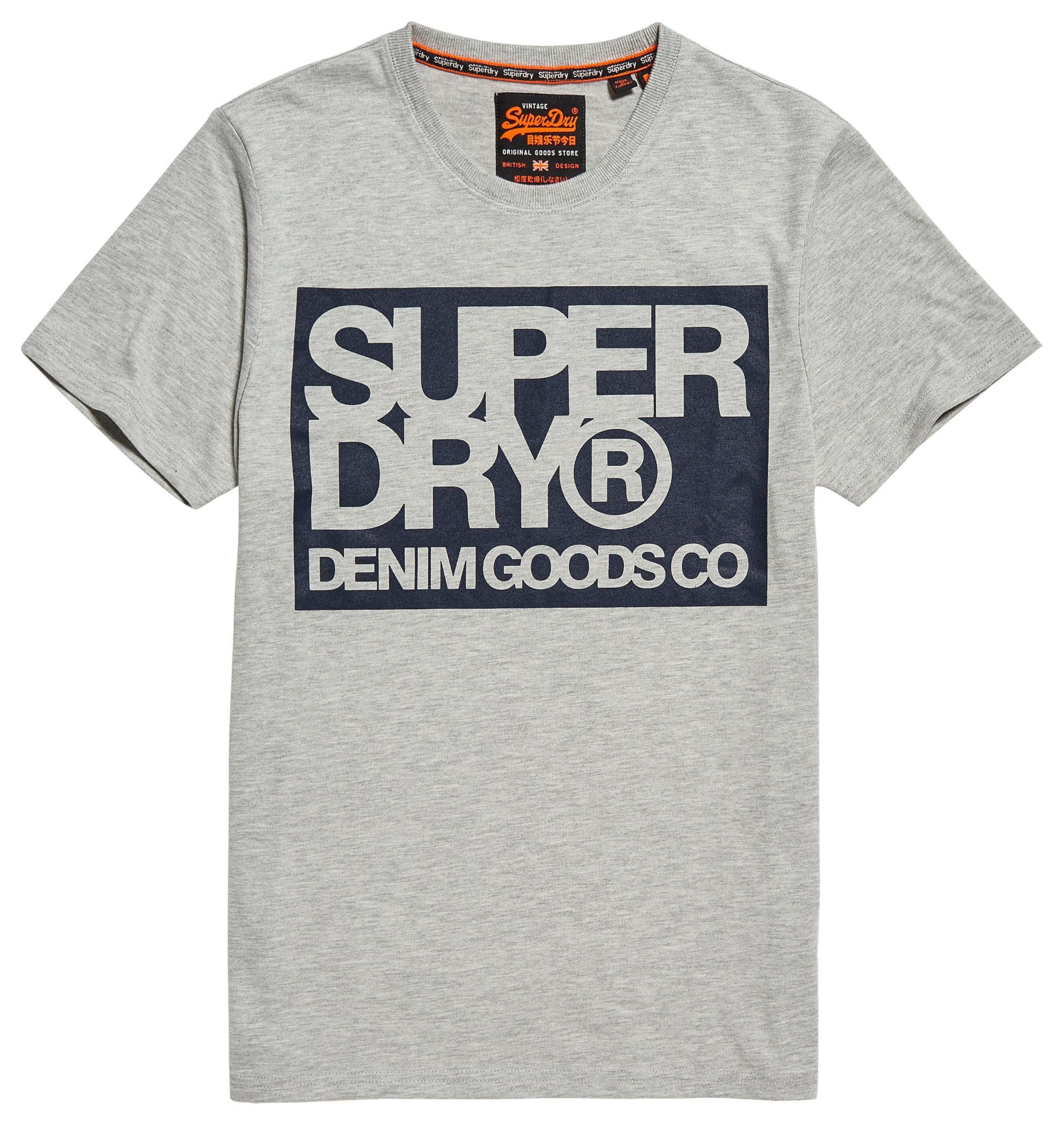 Superdry T Shirt »DENIM GOODS CO TEE« kaufen | OTTO