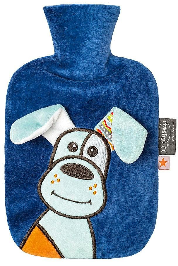 Fashy Wärmflasche »65218 54«, mit Applikation Hund Dobby