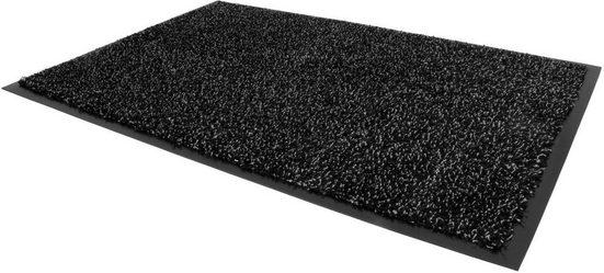 Fußmatte »FLEXI«, Primaflor-Ideen in Textil, rechteckig, Höhe 9 mm, Fussabstreifer, Fussabtreter, Schmutzfangläufer, Schmutzfangmatte, Schmutzfangteppich, Schmutzmatte, Türmatte, Türvorleger, In- und Outdoor geeignet, waschbar