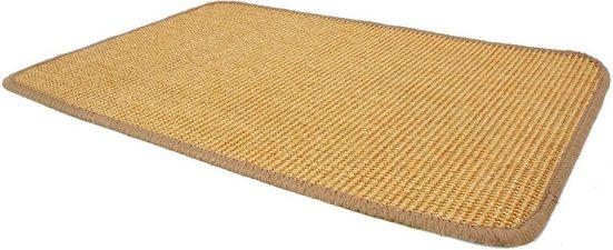 Sisalteppich »SISALLUX«, Primaflor-Ideen in Textil, rechteckig, Höhe 6 mm, Obermaterial: 100% Sisal