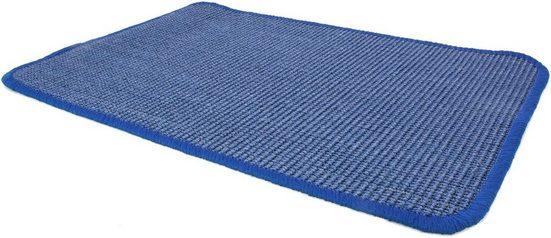 Sisalteppich »SISALLUX«, Primaflor-Ideen in Textil, rechteckig, Höhe 6 mm, Obermaterial: 100% Sisal, Wohnzimmer