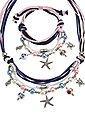 LASCANA Schmuckset, Kette und Armband mit vielen kleinen Anhängern, Bild 3