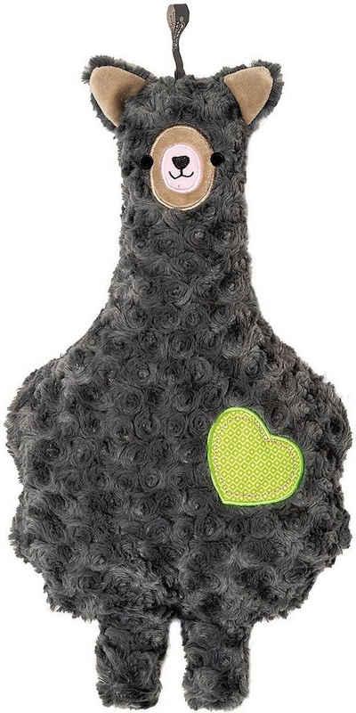 W/ärmflasche mit Pl/üschbezug Frosch Beppo