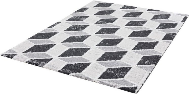 Teppich »Troya 3302«, Sanat, rechteckig, Höhe 13 mm, Kurzflor