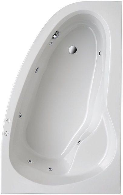 Badewannen und Whirlpools - OTTOFOND Whirlpool Badewanne »Loredana«, (Komplett Set, 3 tlg), Typ 1, chrom  - Onlineshop OTTO
