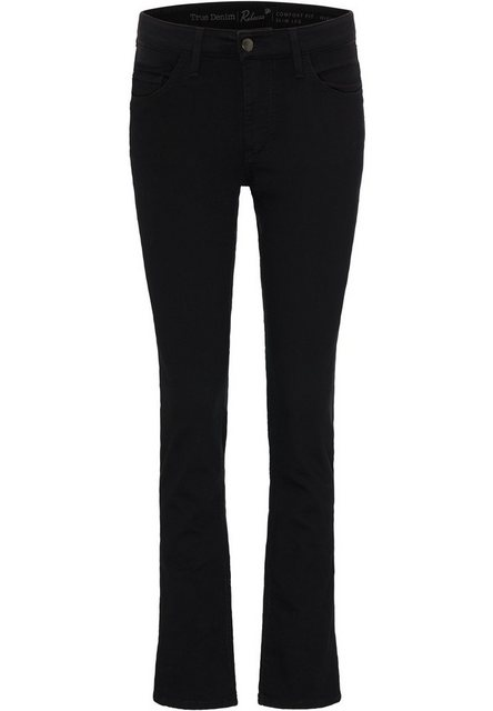 Hosen - MUSTANG Bequeme Jeans »Rebecca« › schwarz  - Onlineshop OTTO
