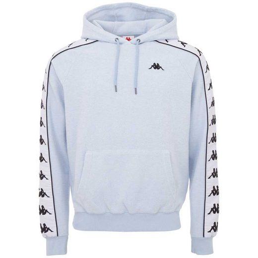 Kappa Kapuzensweatshirt »AUTHENTIC FOYLE« mit großem Jaquard Logoband an den Ärmeln