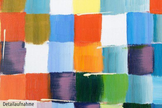 KUNSTLOFT Gemälde »Den Durchblick bewahren«  handgemaltes Bild auf Leinwand
