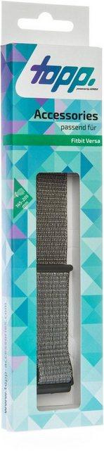 Topp Ersatz-/Wechselarmband »Nylon Loop für Fitbit Versa« | Accessoires > Schals & Tücher > Loops | Topp
