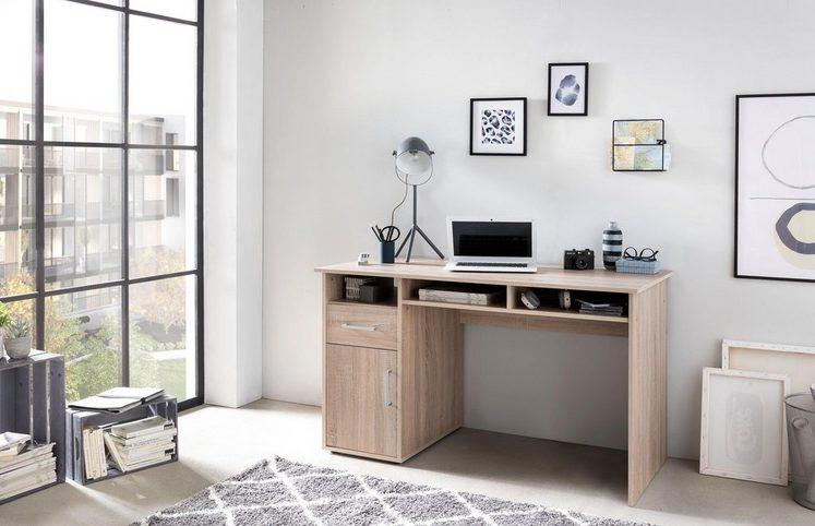 Schreibtisch »MULTI«, mit 1 Tür, 1 Schublade, 3 Fächer