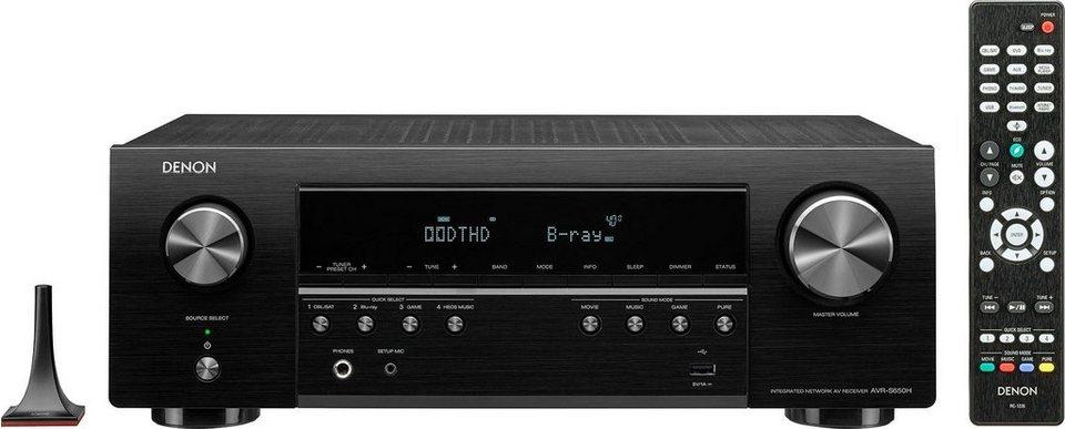 Denon AVR-S650H 5.2 AV-Receiver