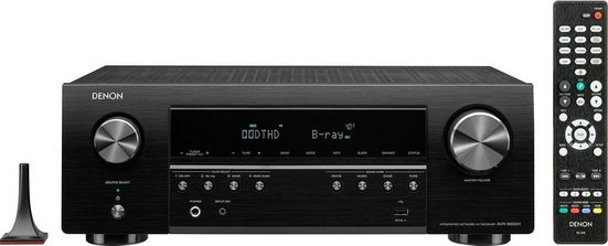 Denon »AVR-S650H« 5.2 AV-Receiver (Bluetooth, WLAN, LAN (Ethernet)