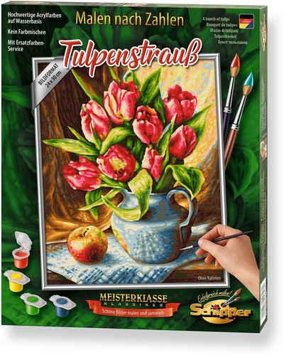 Schipper Malen nach Zahlen »Meisterklasse Premium - Tulpenstrauß«, Made in Germany