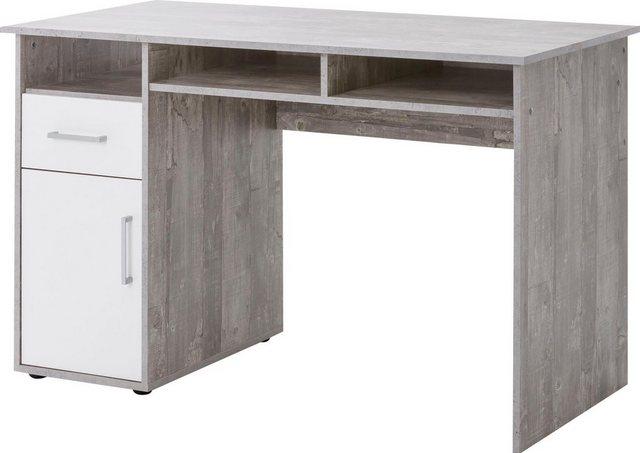 Schreibtische - Schreibtisch »MULTI«, mit 1 Tür, 1 Schublade, 3 Fächer  - Onlineshop OTTO