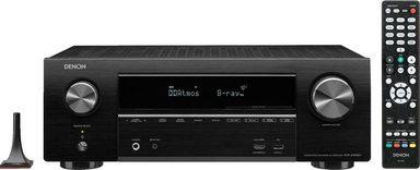 Denon »AVR-X1600H« 7.2 AV-Receiver (WLAN, Bluetooth, LAN (Ethernet)