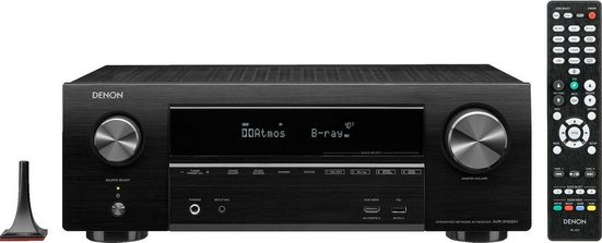 Denon »AVR-X1600H« 7.2 AV-Receiver (WLAN, Bluetooth, LAN (Ethernet)
