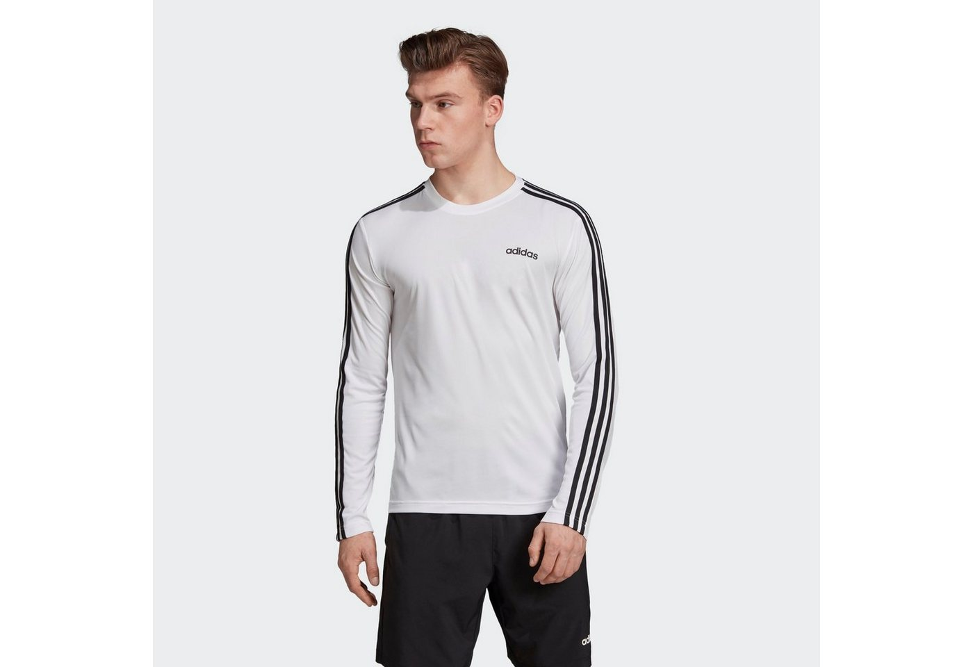 adidas performance -  Langarmshirt »Designed 2 Move Climalite 3-Streifen Longsleeve« RDY;Clima