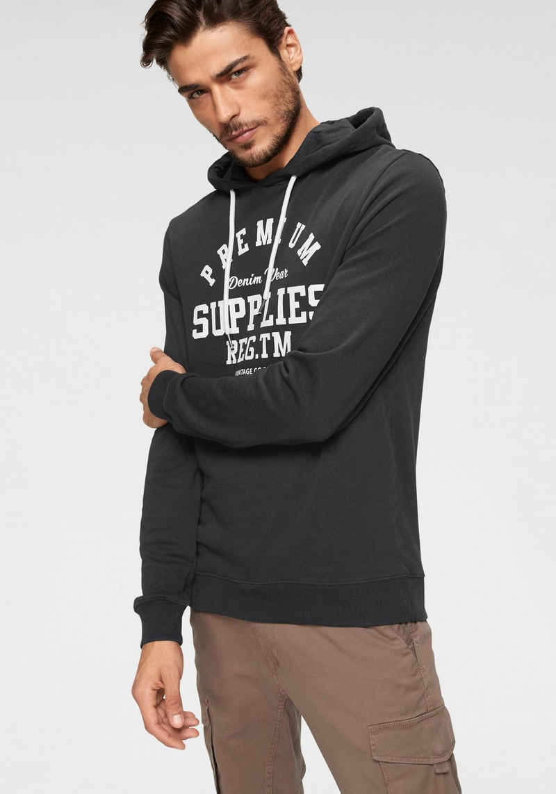 John Devin Kapuzensweatshirt mit verschiedenen Drucken