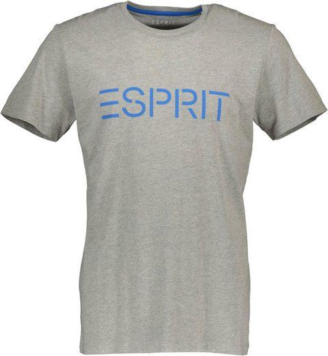 Esprit T-Shirt mit großem Logofrontprint