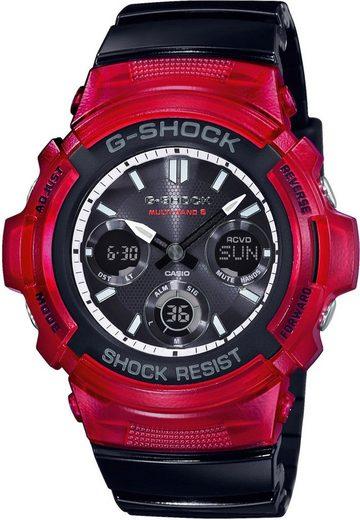 CASIO G-SHOCK Funkchronograph »AWG-M100SRB-4AER«