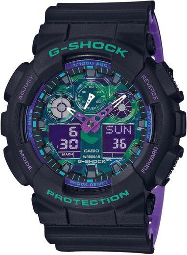 CASIO G-SHOCK Chronograph »GA-100BL-1AER«