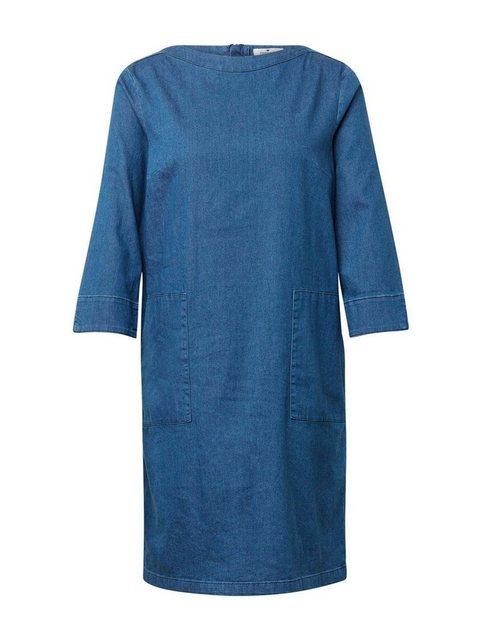 TOM TAILOR Jeanskleid mit 3/4 Arm, U-Boot-Ausschnitt und Reißverschluss hinten   Bekleidung > Kleider > Jeanskleider   Tom Tailor