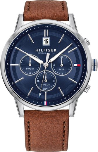 TOMMY HILFIGER Multifunktionsuhr »Casual, 1791629«
