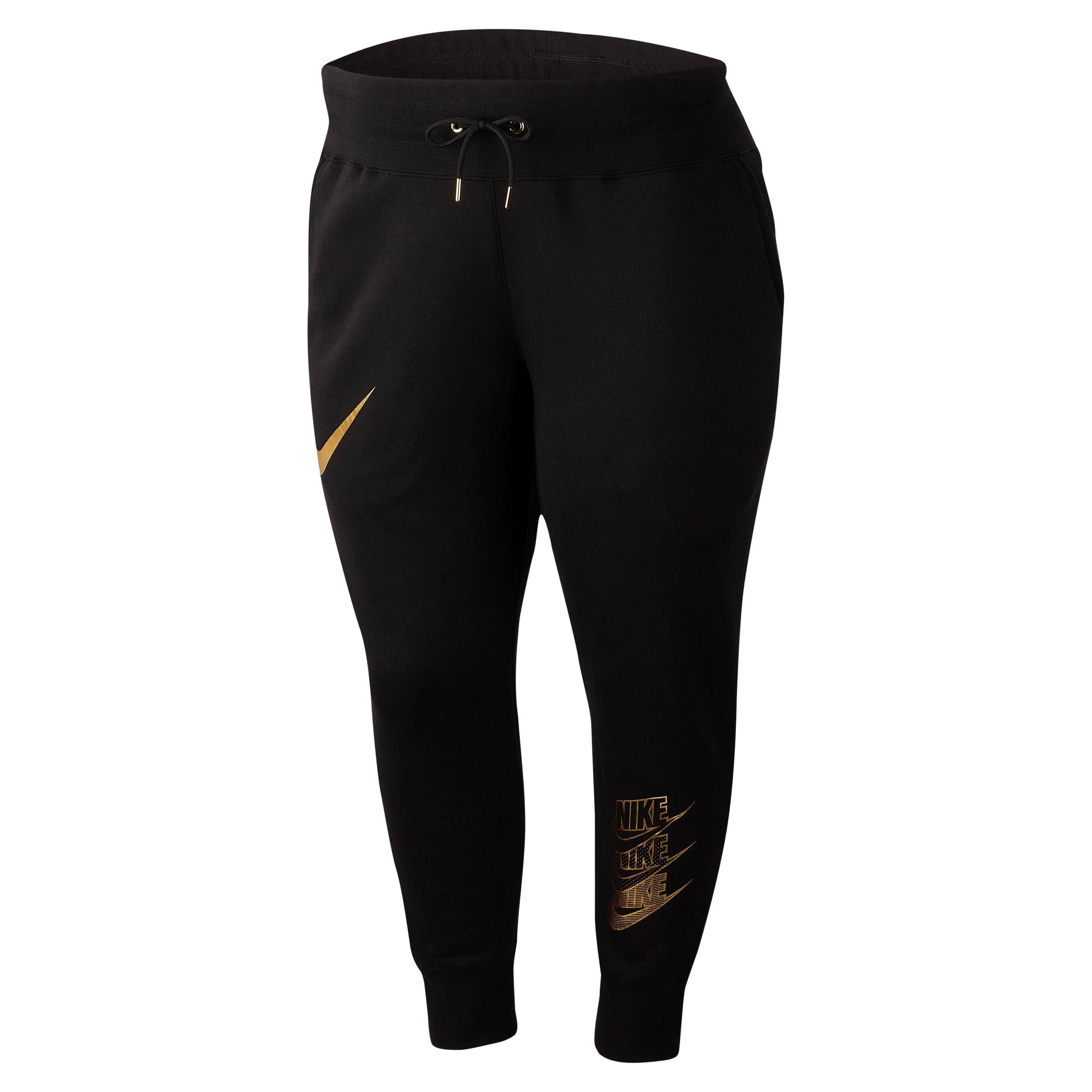 Nike Sportswear Jogginghose »WOMEN NIKE SPORTSWEAR PANT SHINE PLUS SIZE« In großen Größen  | 00193152110083