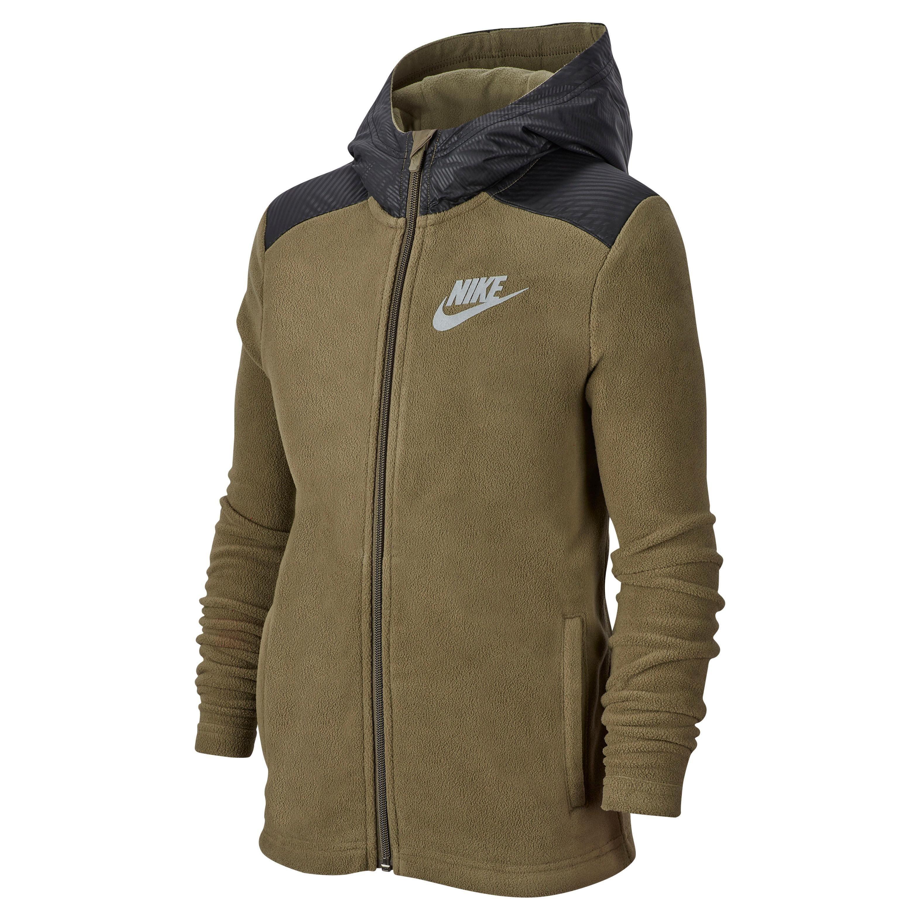 Nike Sportswear Fleecejacke »BOYS NIKE SPORTWEAR HOODIE FULLZIP WINTERIZED« online kaufen | OTTO