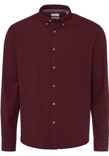 Esprit Hemd mit modischem Button-down-Kragen