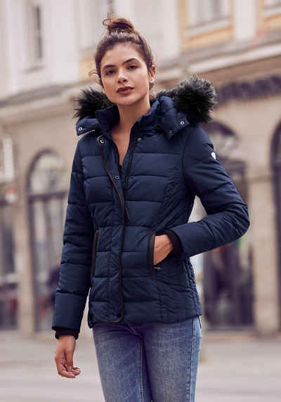competitive price d8fd3 4bc72 Steppjacke in blau online kaufen | OTTO