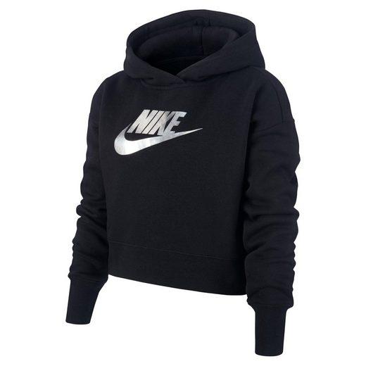 Nike Sportswear Kapuzensweatshirt »GIRLS NIKE SPORTSWEAR CROP HOODY«