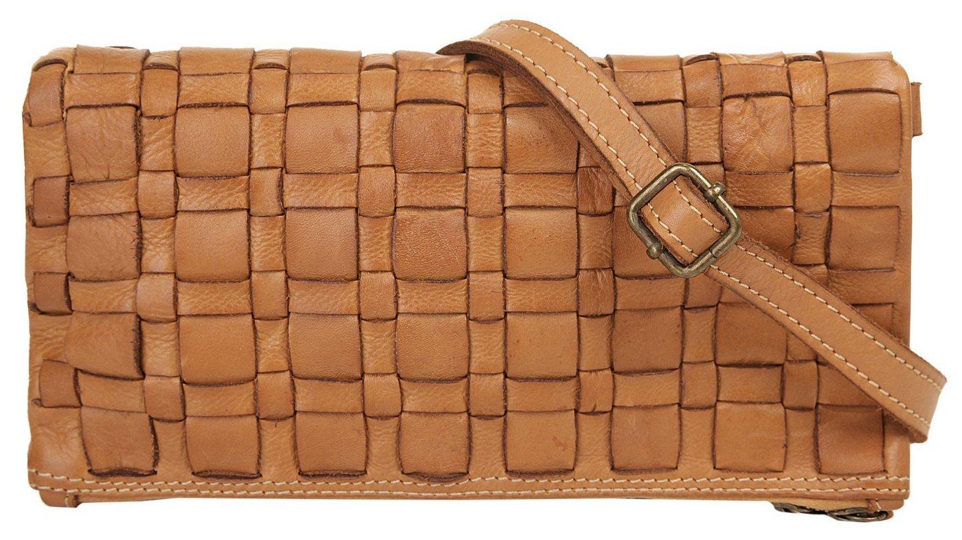 Cluty Abendtasche, besonders leicht | Taschen > Handtaschen > Abendtaschen | Braun | Leder | Cluty