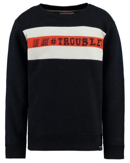 Garcia Sweatshirt mit Brustaufdruck