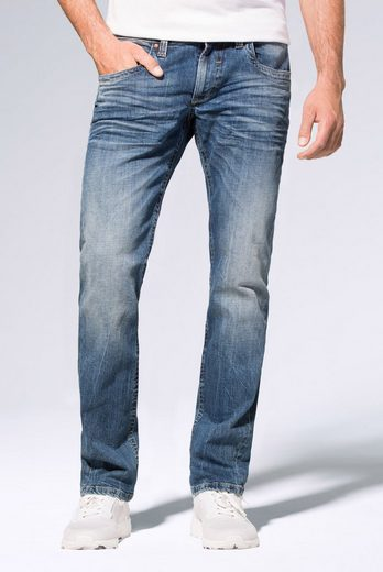 CAMP DAVID Regular-fit-Jeans »NI:CO« mit Used-Waschung