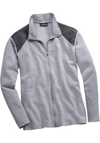 Спортивный свитер с gewebten вставка