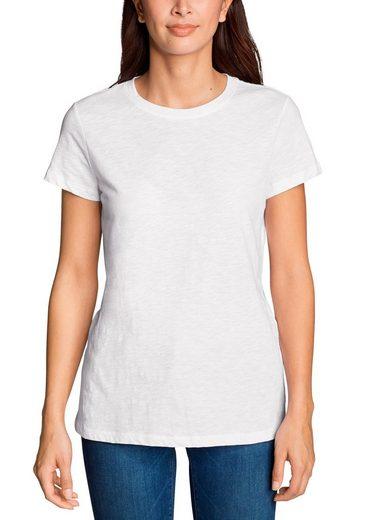 Eddie Bauer T-Shirt Legend Wash Slub - Kurzarm mit engem Rundhalsausschnitt