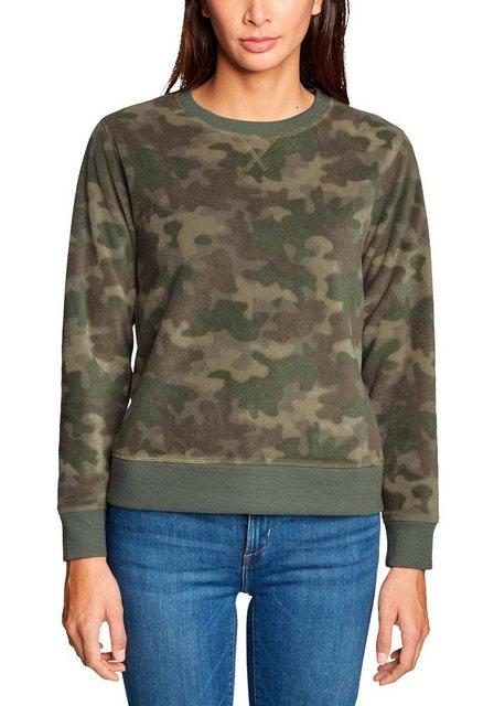 Eddie Bauer Fleeceshirt Quest Fleecepullover - bedruckt | Bekleidung > Sweatshirts & -jacken > Fleeceshirts | Eddie Bauer