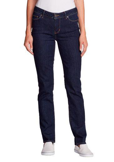 Eddie Bauer 5-Pocket-Jeans Straight Jeans