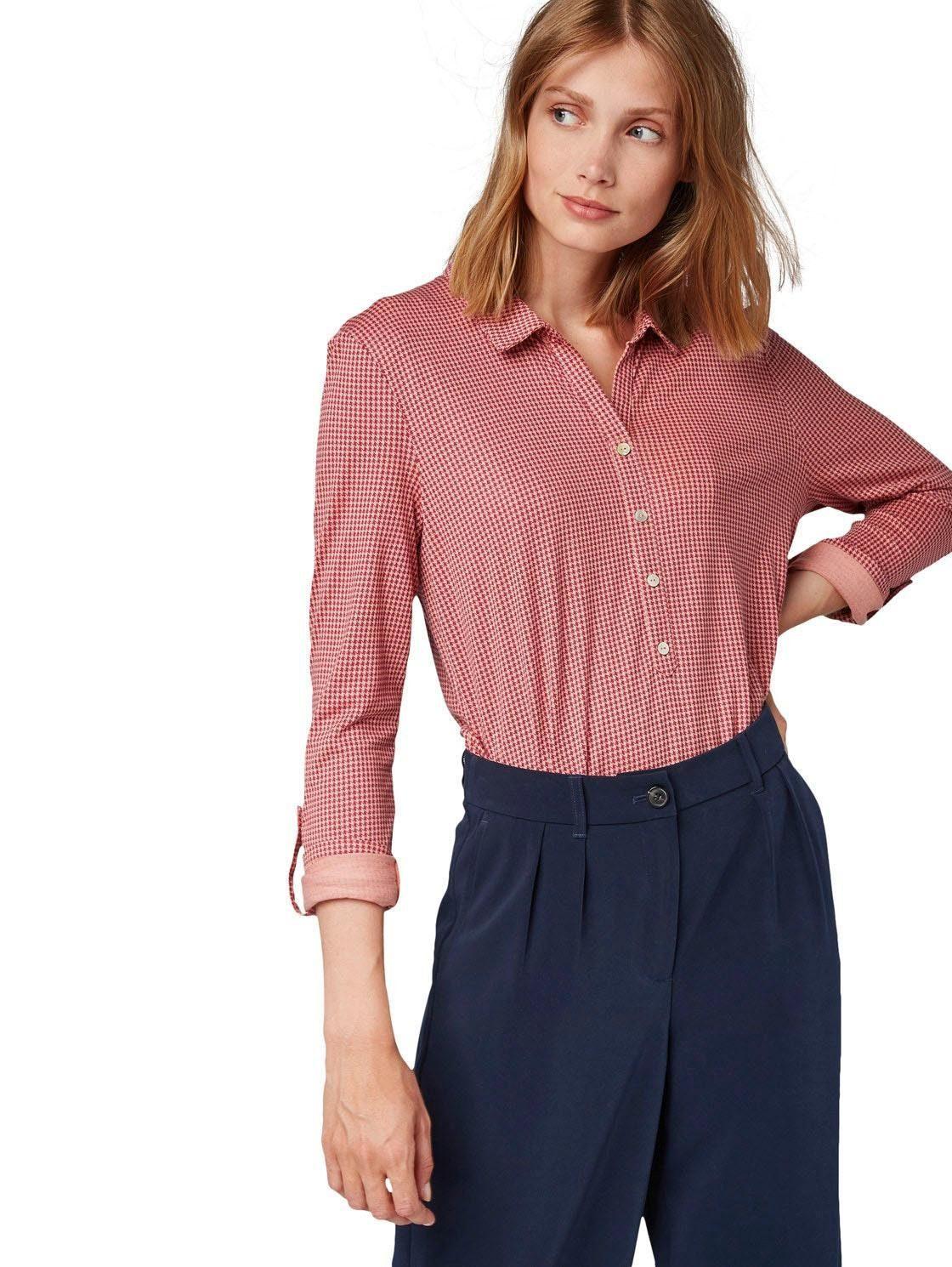 32 42 blau marine Shirt T-Shirt Tom Tailor Poloshirt Gr