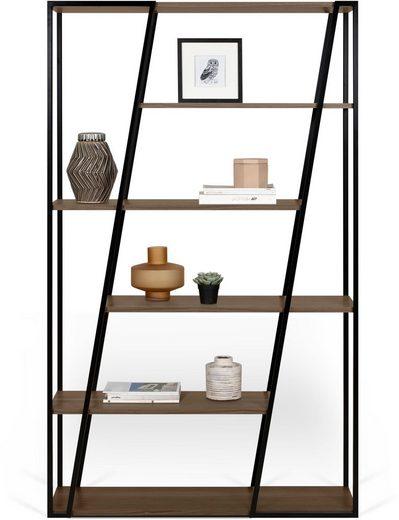 TemaHome Regal »Albi«, in zwei unterschiedlichen Metallstruktur Farben erhältlich, Höhe 197 cm