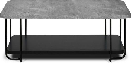 TemaHome Couchtisch »Kali«, die Tischplatte ist aus einer Wabenkonstruktion, Breite 120 cm