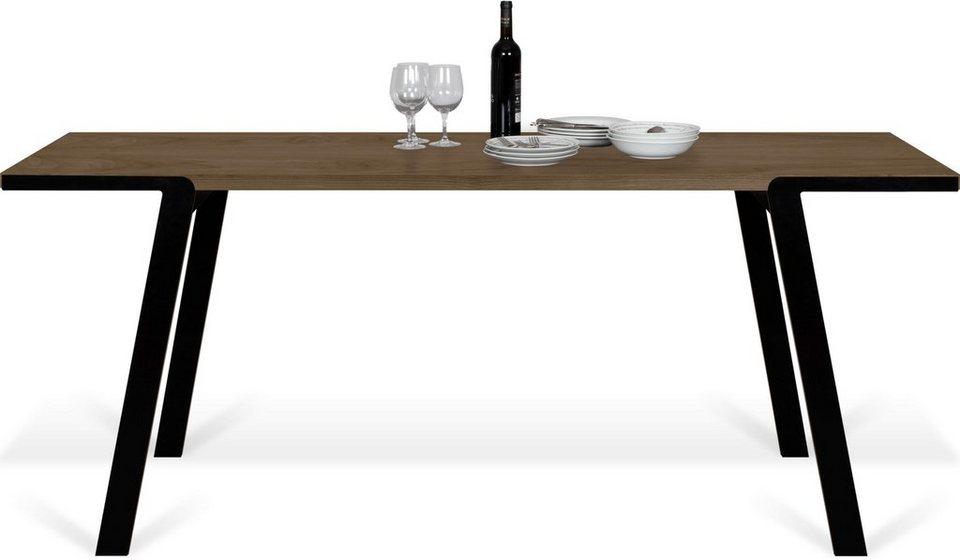 temahome esstisch drift mit sch ner holzoberfl che und. Black Bedroom Furniture Sets. Home Design Ideas