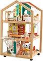 KidKraft® Puppenhaus »Stylish Mansion mit EZ Kraft Assembly™«, fahrbar; inklusive Möbel, Bild 1