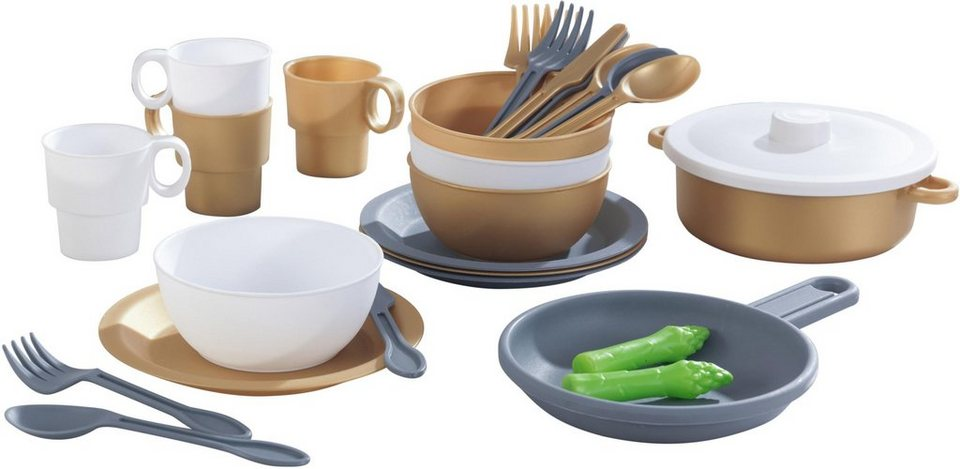 KidKraft® Kinder-Küchenset »Küchen-Spielset, Modern Metallics« online  kaufen | OTTO