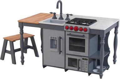 KidKraft® Spielküche »Chef's Cook N Create Island« Kunststoff, Metall, MDF, mit EZ Kraft Assembly™