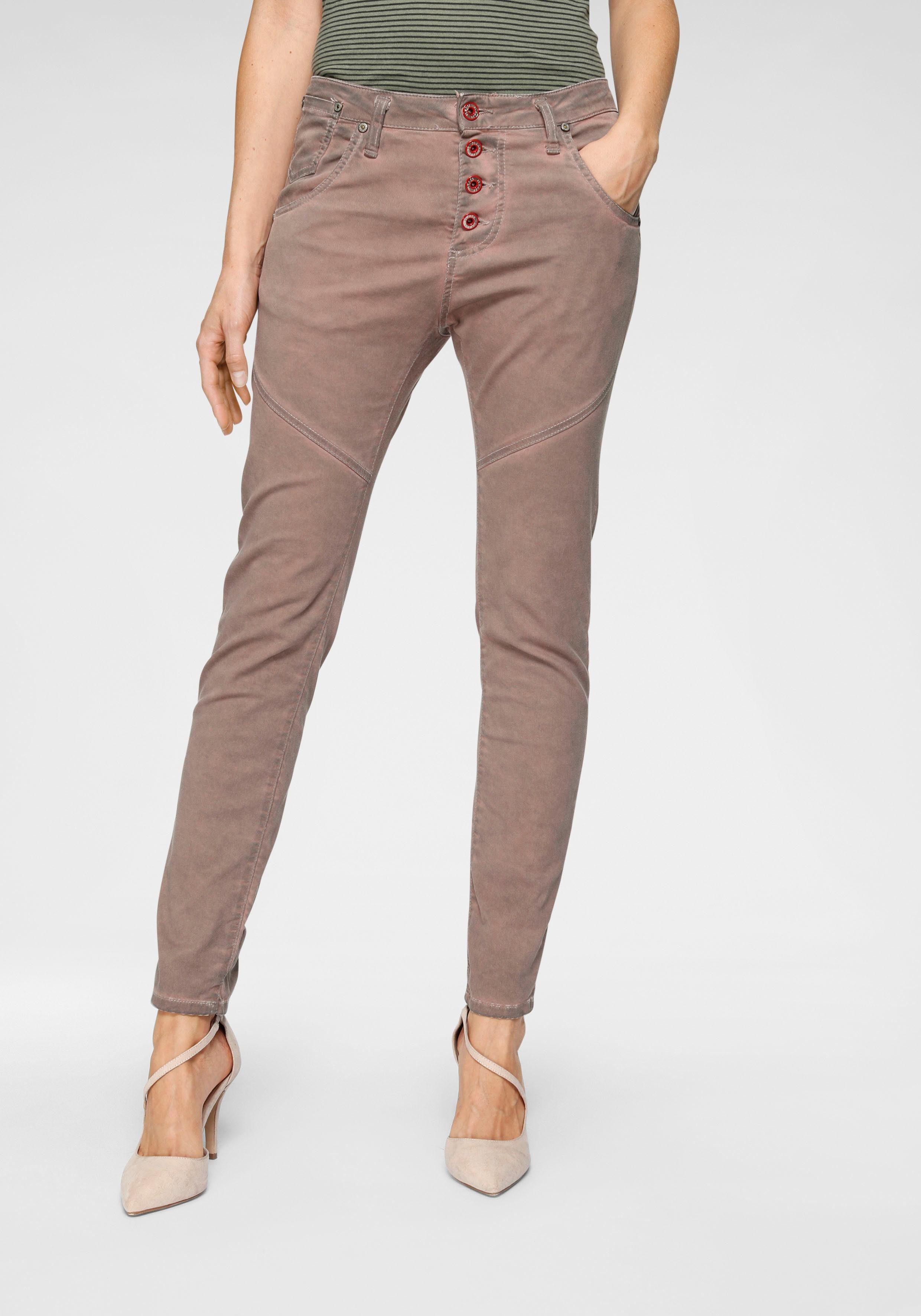 Röhrenhose Im Kaufen Haptik Boyfriend Please Jeans »p78a« Online Mit cut Samtiger TlF1cKJ